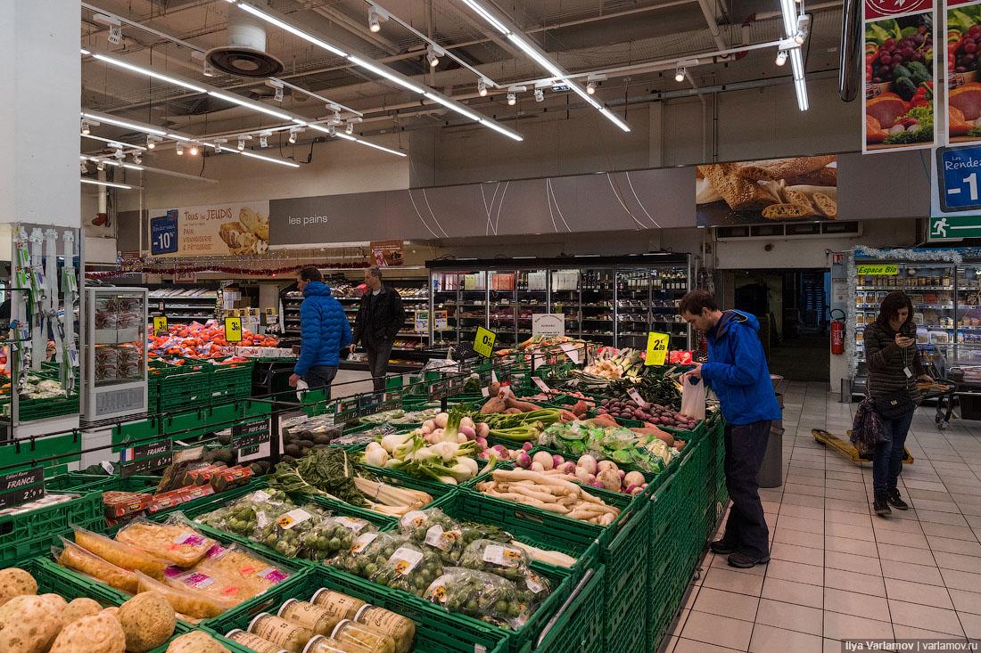 Как они выживают с такими ценами? Зашел в французский супермаркет рублей, около, России, рубкг, стоит, Москве, примерно, стоить, будет, стоят, здесь, зимой, дешевле, такая, Упаковка, столько, тысяч, Европе, которые, продуктов