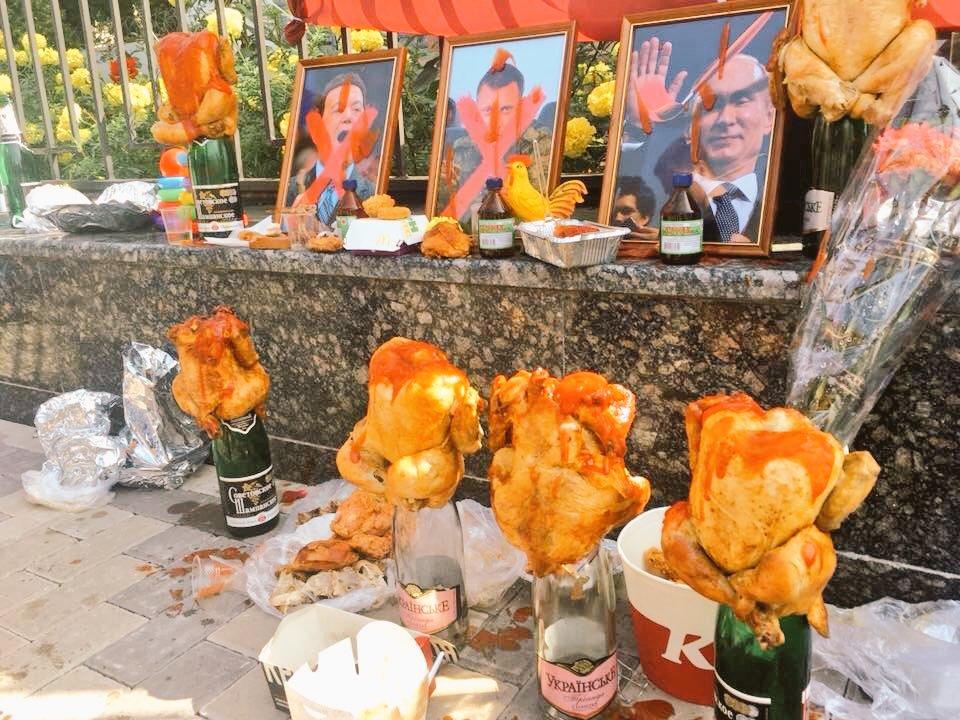 Украинцы помянули Кобзона и Захарченко