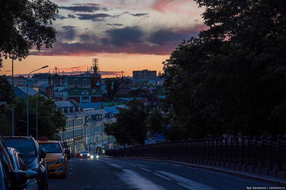 Несколько зарисовок из жизни Москвы