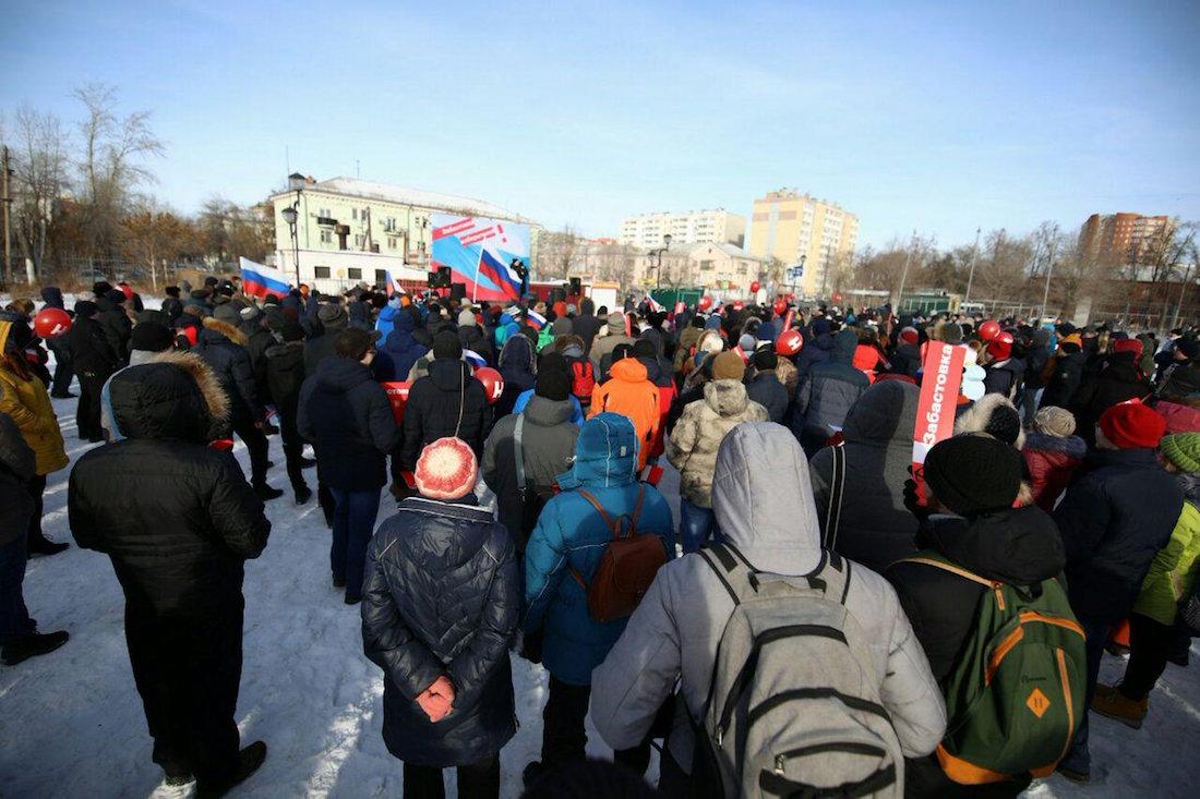Всероссийская забастовка избирателей. Трансляция окончена