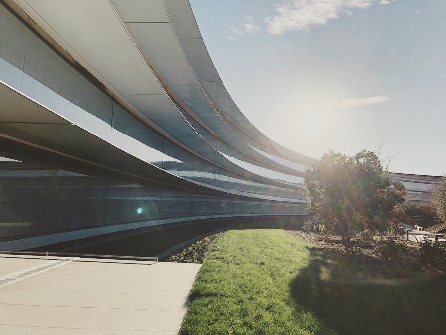 Фотографии новой штаб-квартиры Apple (которую ещё никто не видел)