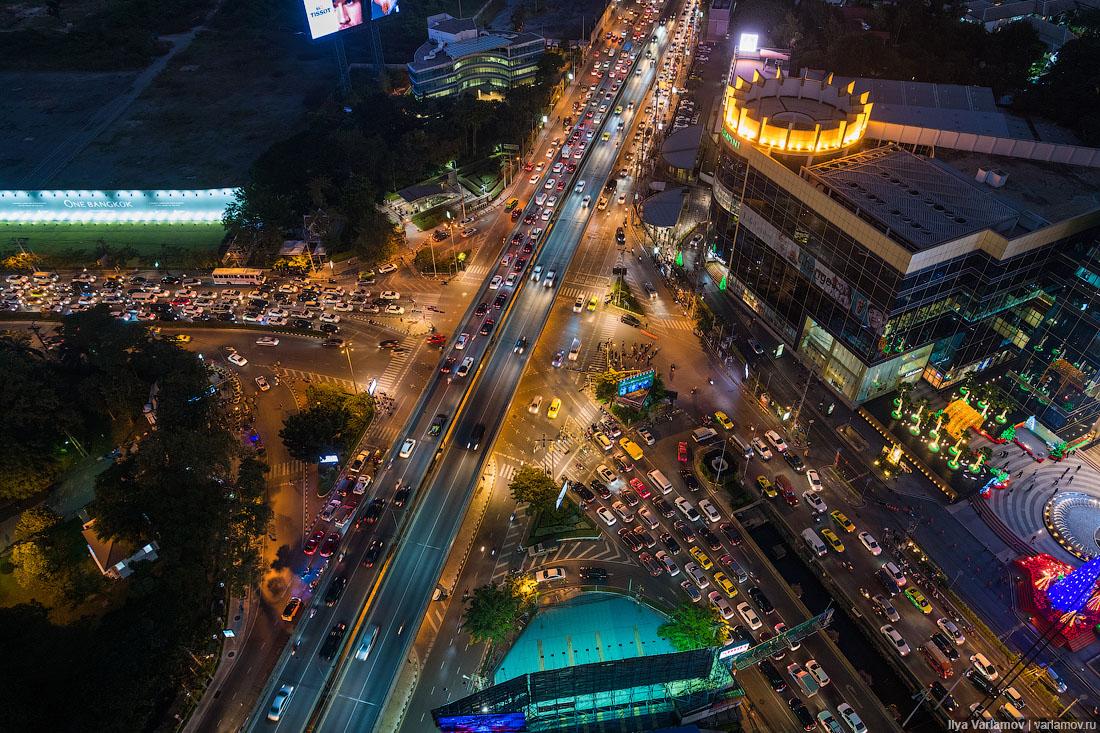 Бангкок: самые страшные пробки в мире