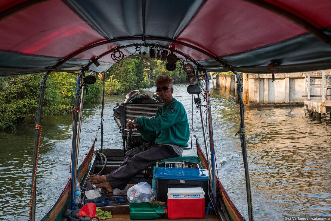 Бангкок: плавучие деревни, элитные многоэтажки и колониальная архитектура