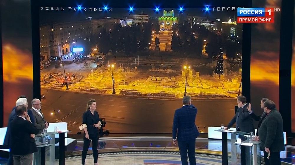 Телеведущая «России1» очень странно оправдалась заложь впрямом эфире