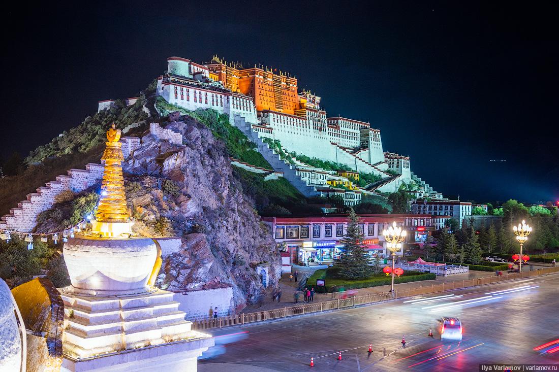 Как китайцы строят прекрасный Тибет!