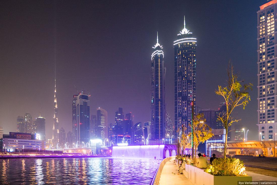 Новые общественные пространства Дубая