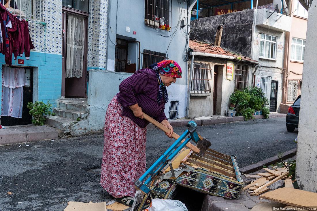 Стамбул: репрессии, коты и цыганский квартал