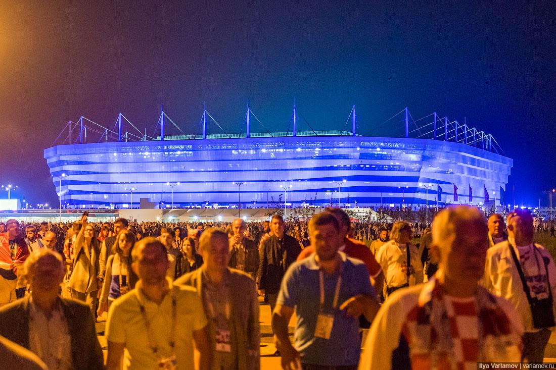Большой футбол в Калининграде: всё очень круто