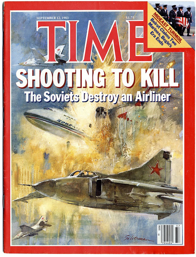 The military mistakenly shot down an airplane, Soviet, Boeing, aircraft, September, to, Osipovich, military, moment, time, course, passenger, disaster, space, air, when, after, However, To, passengers