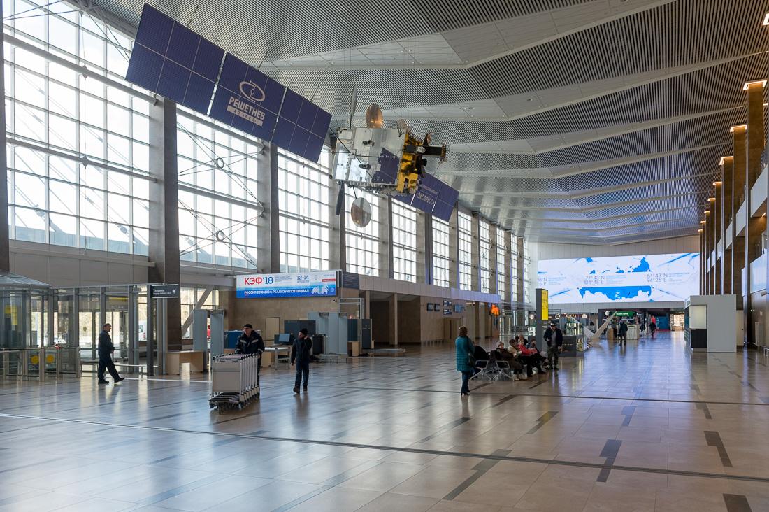 Новый аэропорт Красноярска
