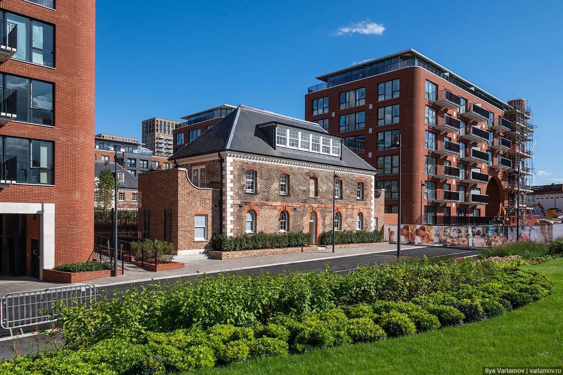 Новый старый район Арсенал в Лондоне: хотели бы так жить?