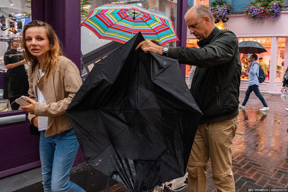 Лондон: мерзкая погода и отличный ресторан Чичваркина