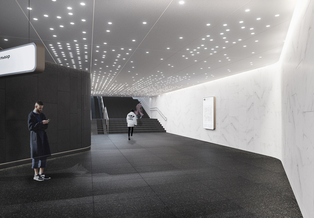 В Москве на днях подвели итоги конкурса на дизайн новых станций метро