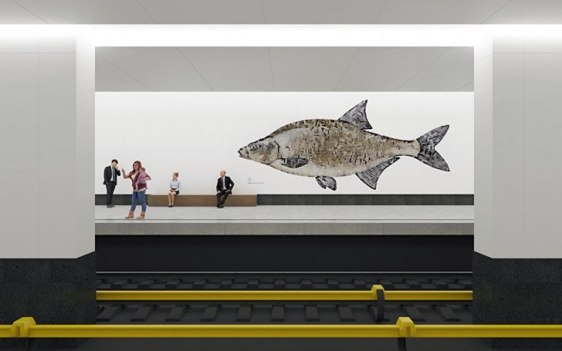 Очень красивые станции московского метро