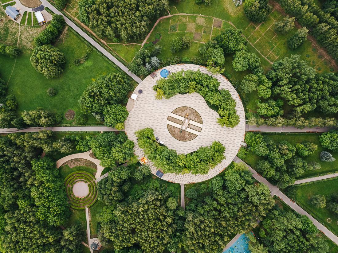 Зелёная Москва: невероятные фото новых парков столицы