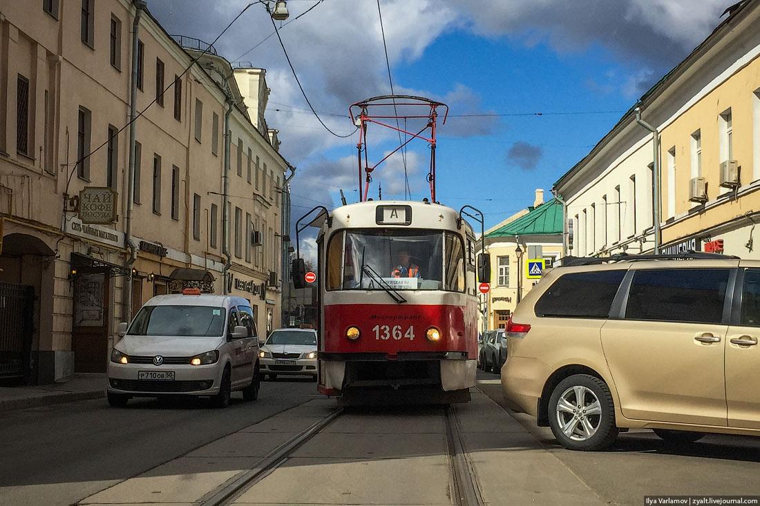 Однажды москвич отказался от автомобиля, и у него отвалилась жопа