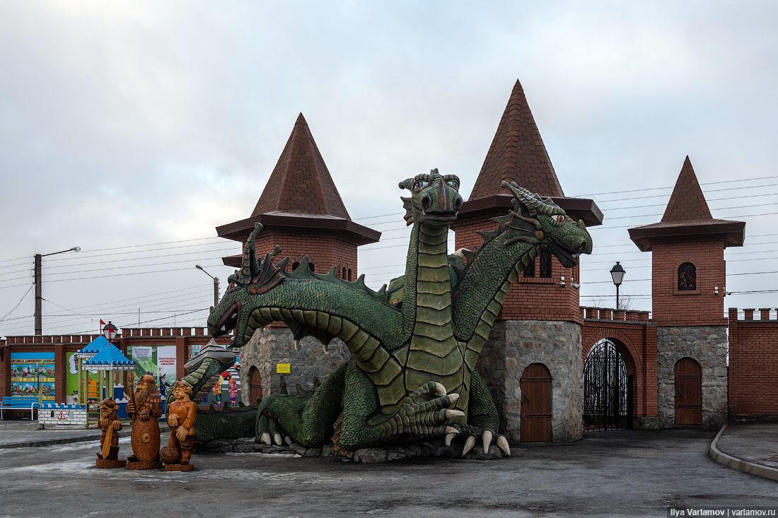 Мурманских чиновников оштрафовали задетский городок «Сказка»