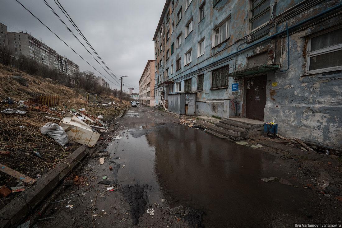 Главы Мурманска ответили: во всём виновата зима и неправильный народ