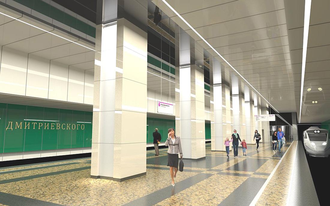 Как вам дизайн новых станций московского метро?