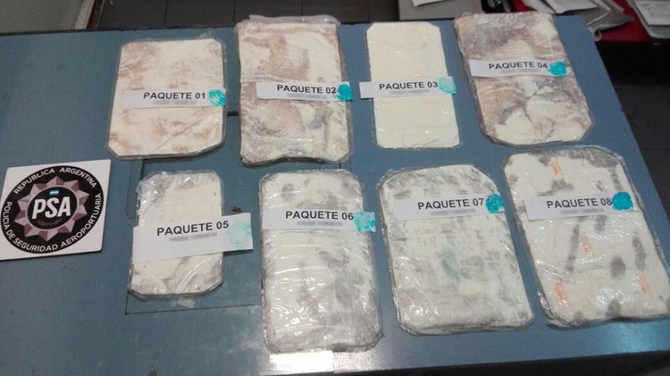 В аэропорту Буэнос-Айреса задержан россиянин с кокаином в чемоданах