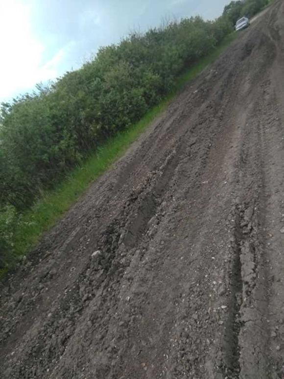 Курганские чиновники отказали жителям поселка в ремонте единственной дороги, назвав ее стихийной