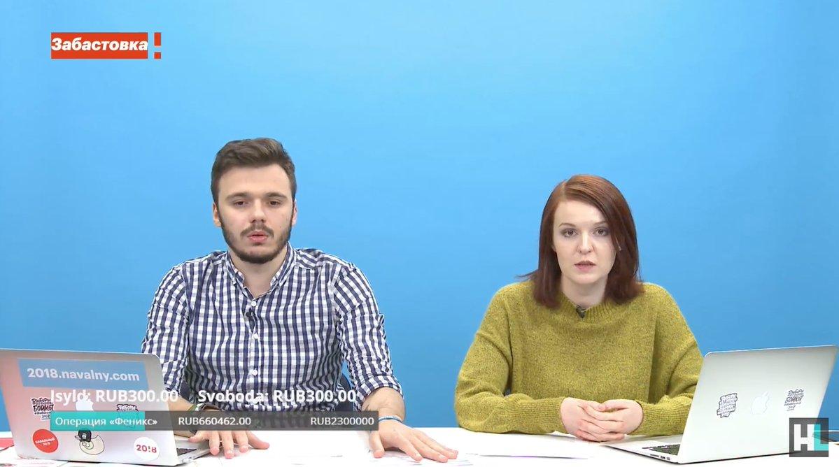 Пресс-секретарь Навального арестована после митингов 28 января (сам Навальный на свободе)