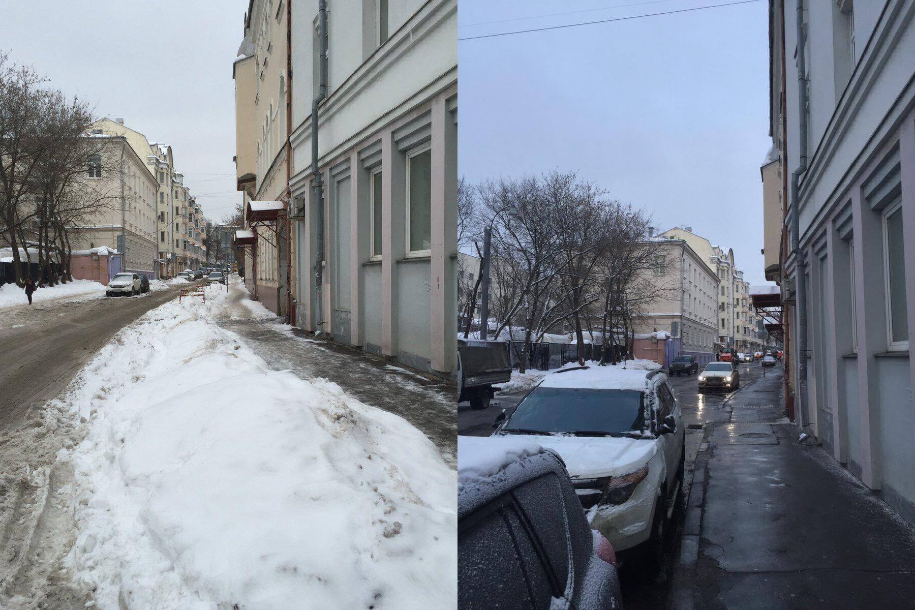Посол Австралии пожаловался Собянину на сугробы, всю улицу сразу очистили от снега