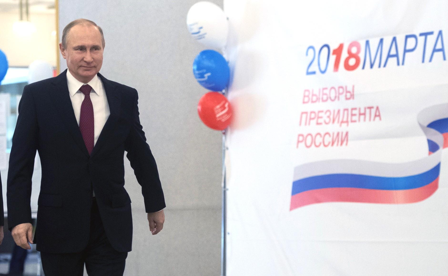 """""""Это немножко смешно"""": Путин ответил на вопрос про участие в выборах в 2030 году"""