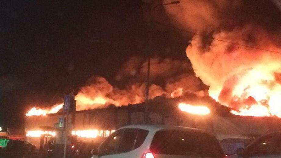 Магазин игрушек Rich Family в Тюмени сгорел за неделю до проверки