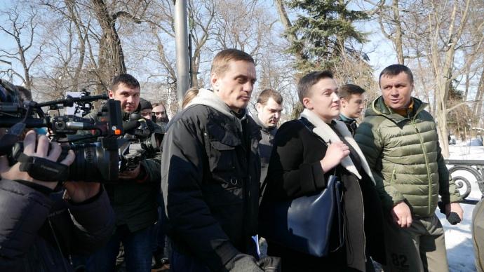 В Киеве задержана Надежда Савченко, ее подозревают в подготовке терактов