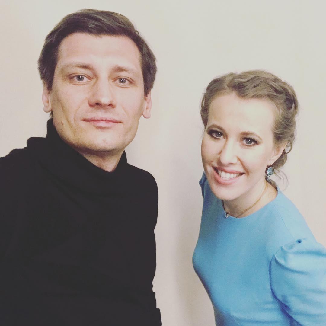 Дмитрий Гудков объявил о создании вместе с Собчак новой партии