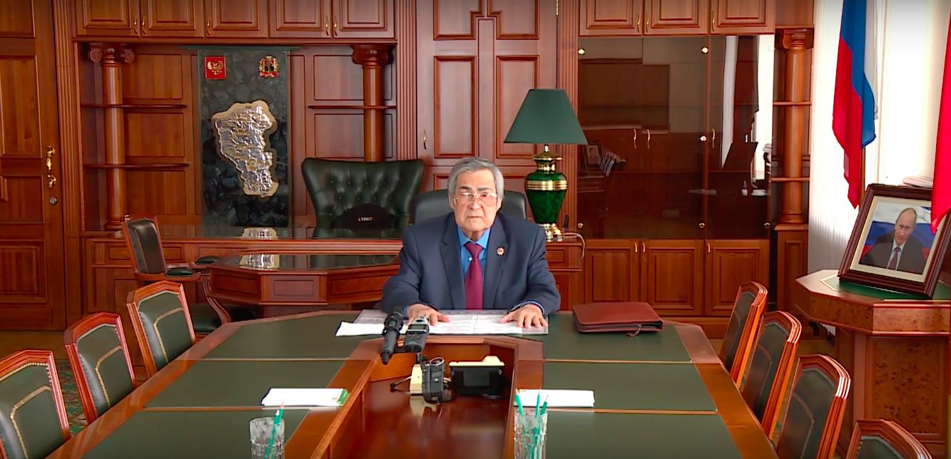 Аман Тулеев возглавил кемеровский парламент