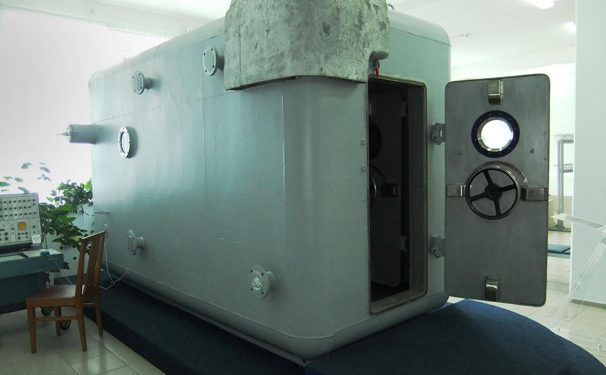 Со склада Музея космонавтики украли сурдобарокамеру