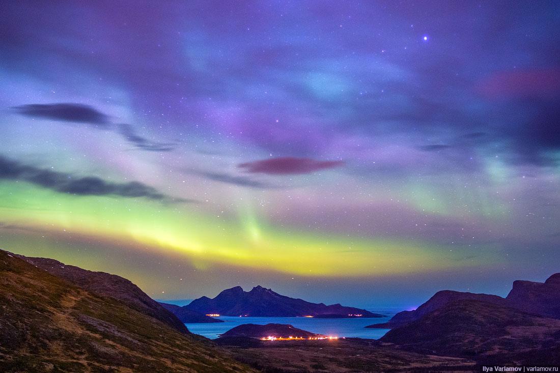 Прекрасная Норвегия: дороги, горы и северное сияние