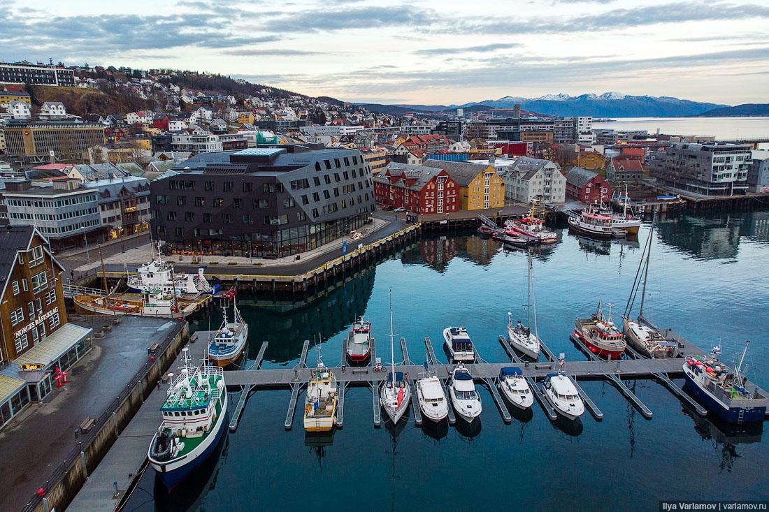 Что норвежцу удобный город, то русскому смерть