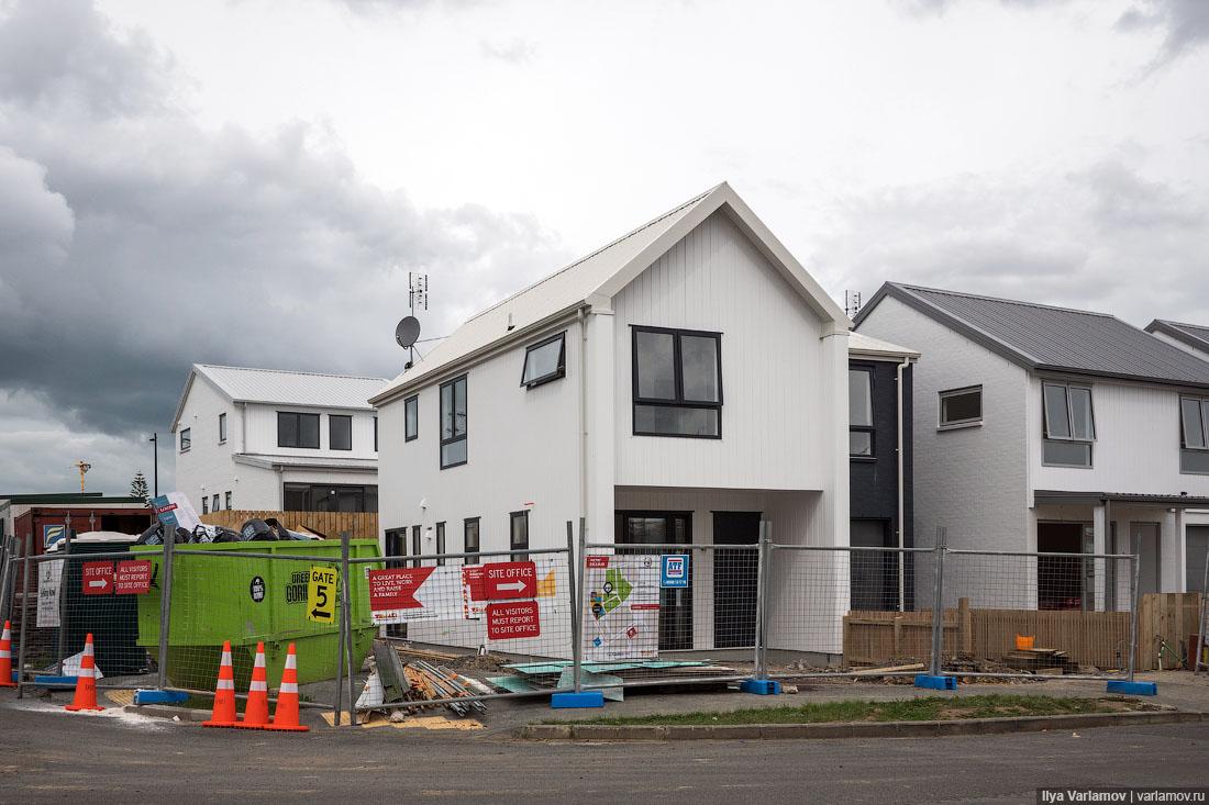 Реновация в Новой Зеландии: уплотнение и переселение
