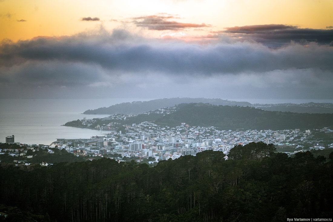 Столица Новой Зеландии: как выжить в таком климате