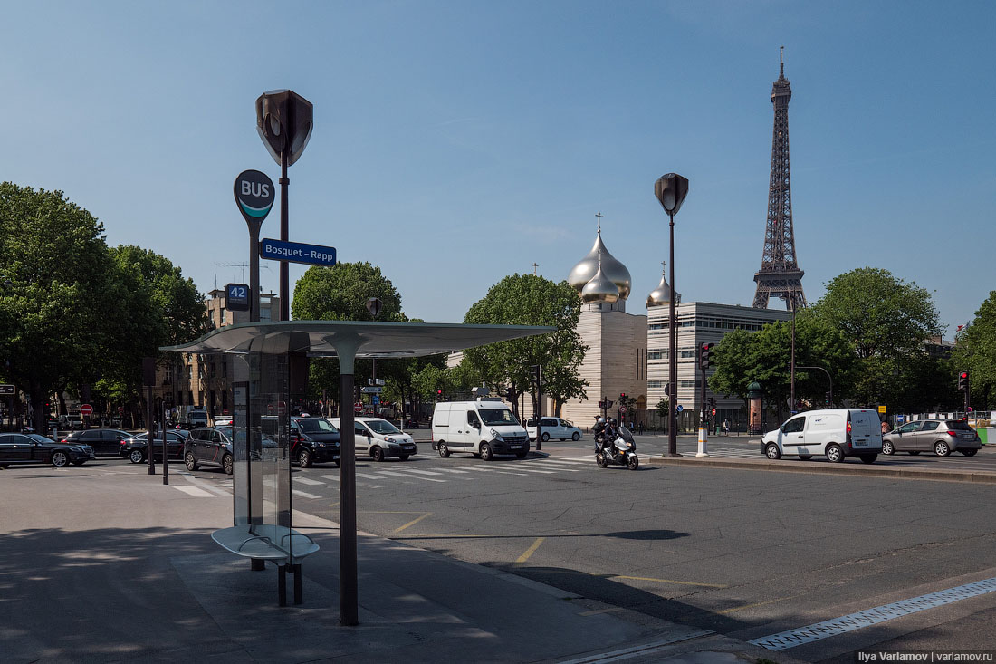 Paris - small Murmansk can, here, be made, Paris, very, very simply, which, make, embankment, Here, embankment, looks, places, to, Paris, church, decision, immediately, now, when