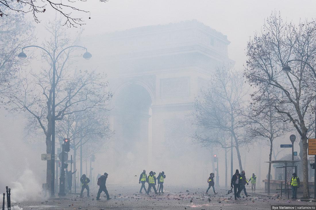 Погромы в Париже
