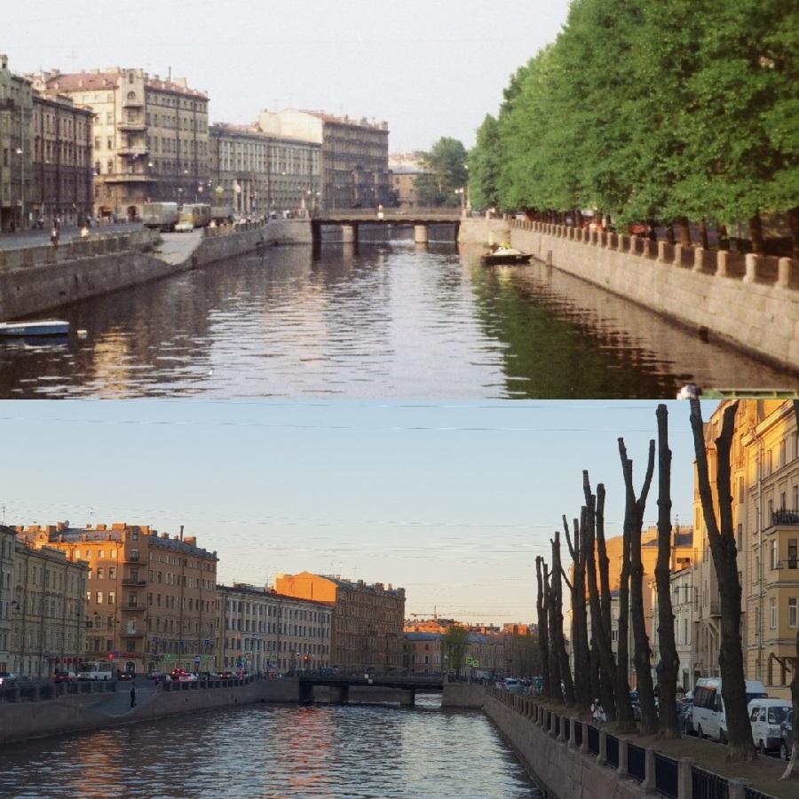 Как Петербург превращался в каменные джунгли