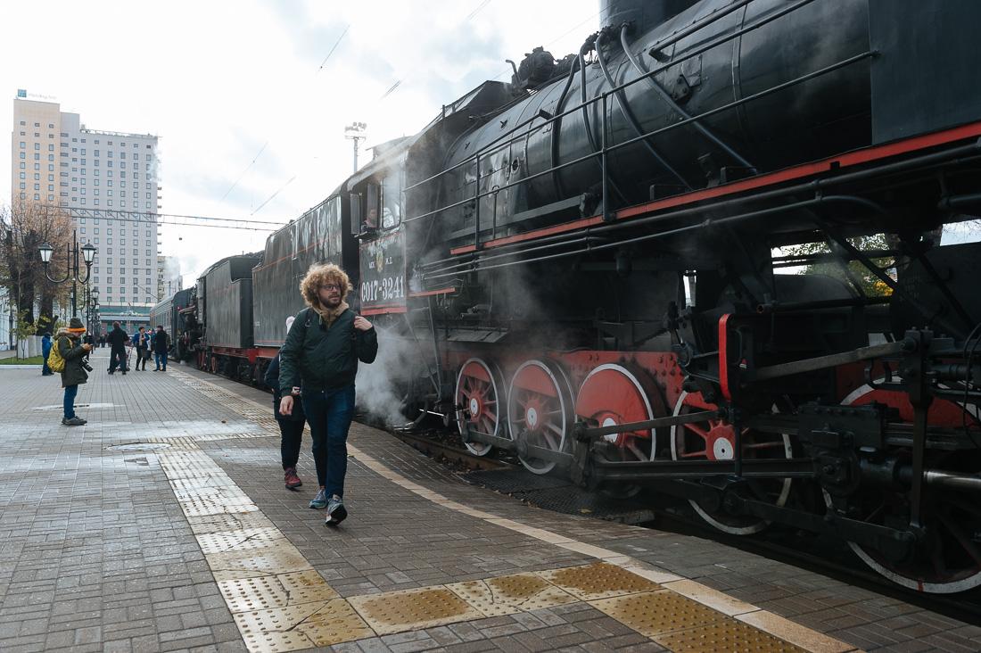 По Москве на ретропоезде