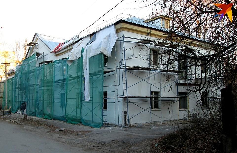 В Рязани отремонтировали дом под снос