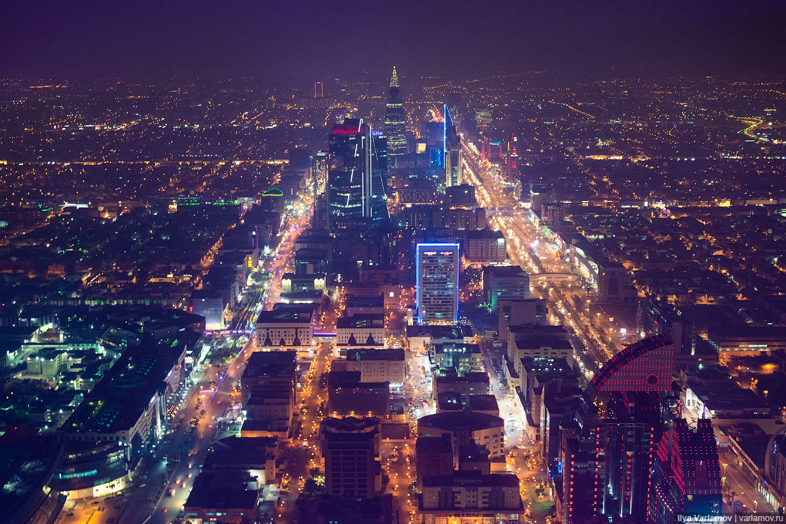 Эр-Рияд, Саудовская Аравия: городская среда