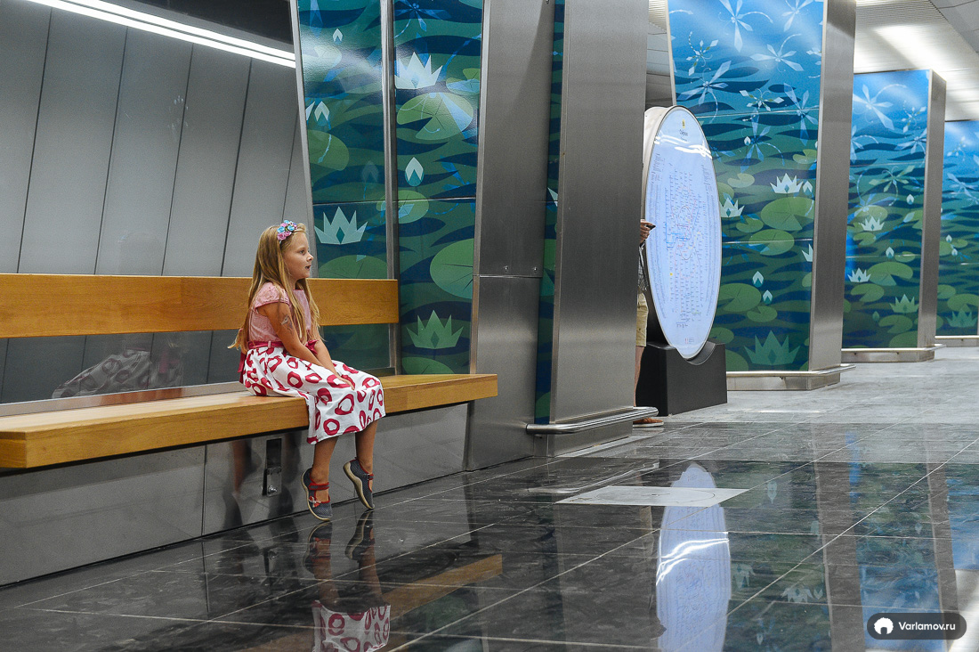 Seven new Moscow metro stations. How do you like it?