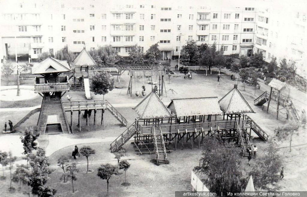 В Советском Союзе было лучше городок, Детский, Детская, площадки, Артём, площадка, парке, Москве, Костюк, Горького, улице, Площадка, детские, Городок, построили, можно, всего, Измайловском, крепость, такого