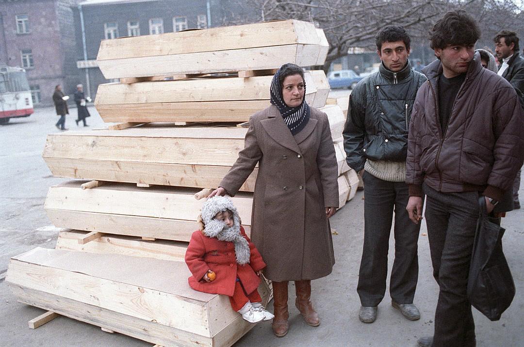 Тридцать лет со дня Спитакского землетрясения