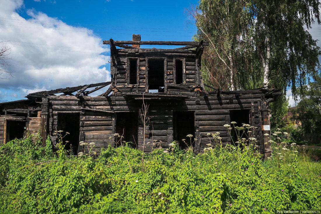 Почему в России гибнут старинные города