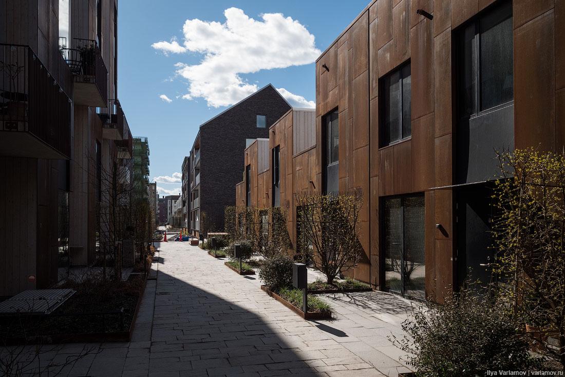 Новые районы Стокгольма. Хотели бы так жить?