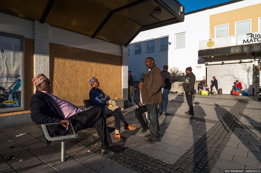 """Чёрное гетто Стокгольма, где чуть не изнасиловали журналистку """"КП"""""""