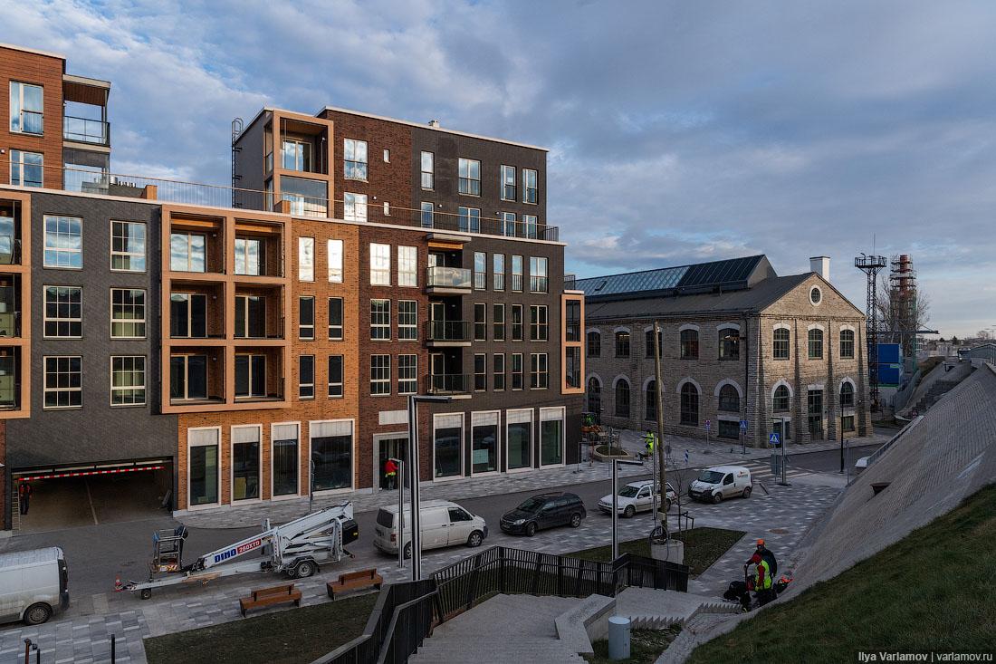 Новые районы Таллина: хотели бы так жить?